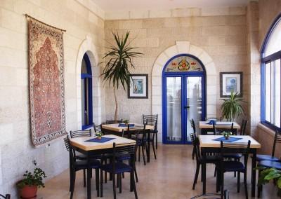 Speisesaal - Gästehaus Beit Al Liqa'