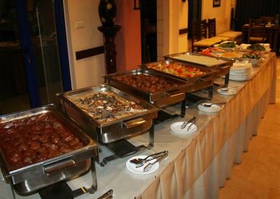 Buffet im Speisesaal - Gästehaus